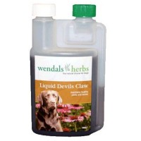 WENDALS HERBS LIQUID DEVIL'S CLAW FOR DOGS - JOINT SUPPLEMENT